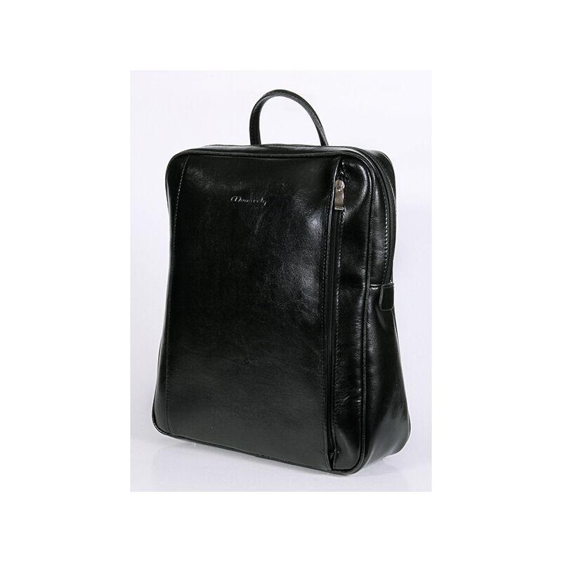 72cdcd0a47 Rubina fekete női bőr hátizsák 29x35cm 23.990 Ft-os áron!