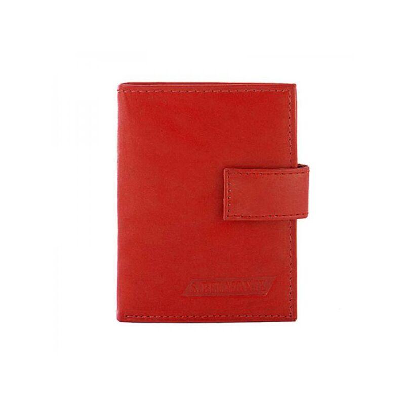 Női bőr piros kártyatartó 1.299 Ft-os áron! 52418e8fe0