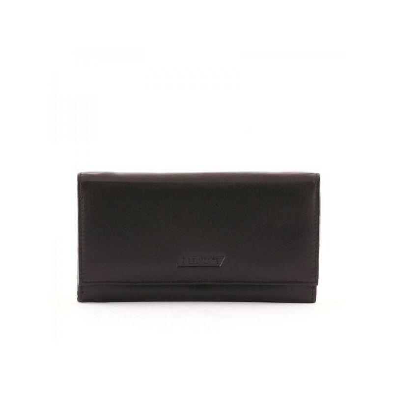 S. Belmonte női bőr pénztárca fekete 4.990 Ft-os áron! a33ebbdaea