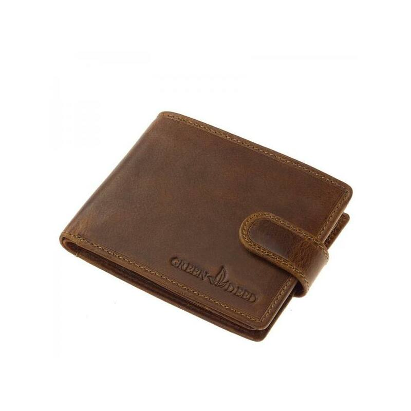 GreenDeed Natural bőr férfi pénztárca 6.499 Ft-os áron! 0ae93153f5