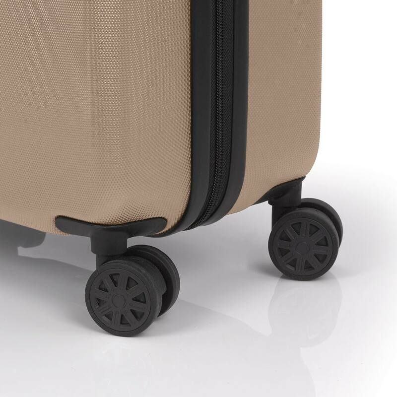 f2e3c01fb568 Gabol Paradise kemény falú, Wizzair, Ryanair kabin bőrönd 55 cm, bézs