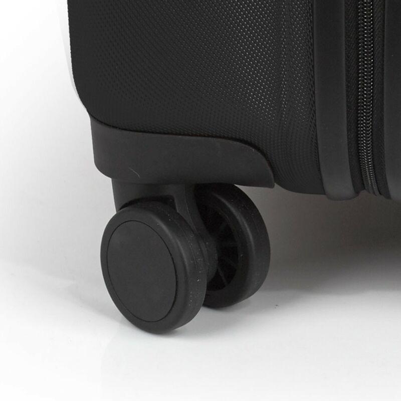 53fd72d313e1 Gabol Paradise kemény falú, Wizzair, Ryanair kabin bőrönd 55 cm, fekete
