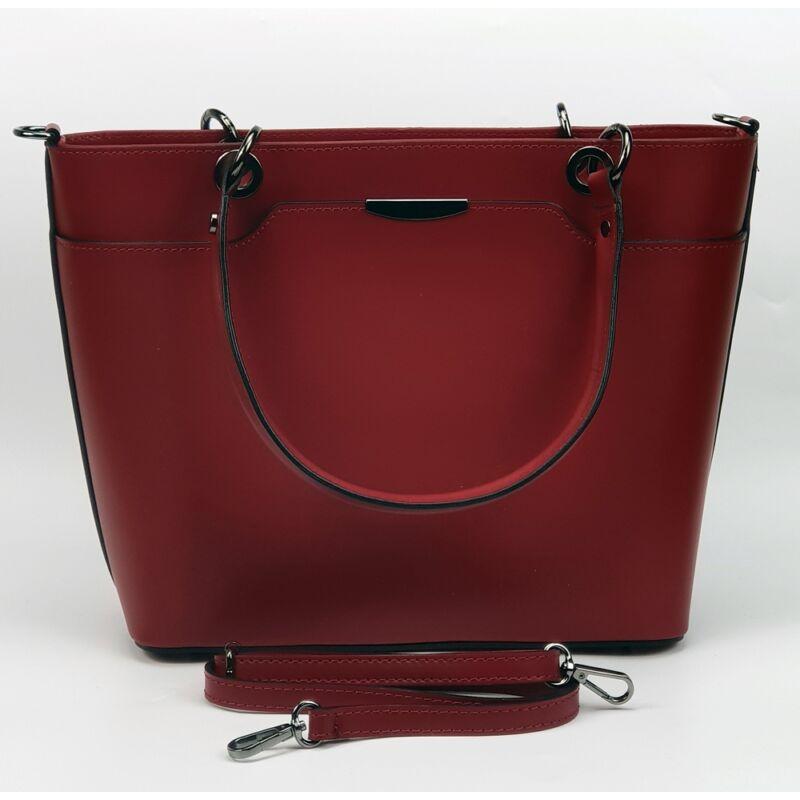 Maxmoda Miranda olasz piros női bőr kézitáska vállpánttal 22.990 Ft ... be485cee45