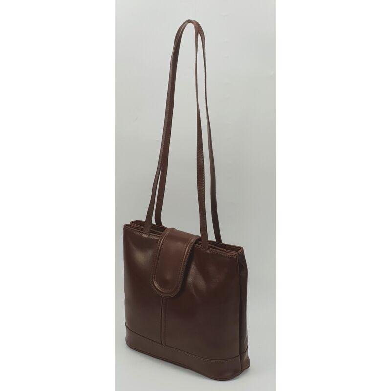Maxmoda Lidia olasz női barna bőr divat válltáska 15.990 Ft-os áron! a16e561f24