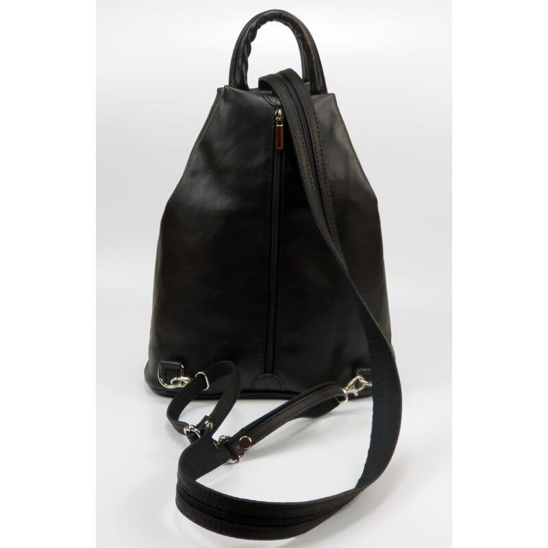 fa2b9bf0a116 Maxmoda Koko fekete női bőr hátizsák 16.990 Ft-os áron!