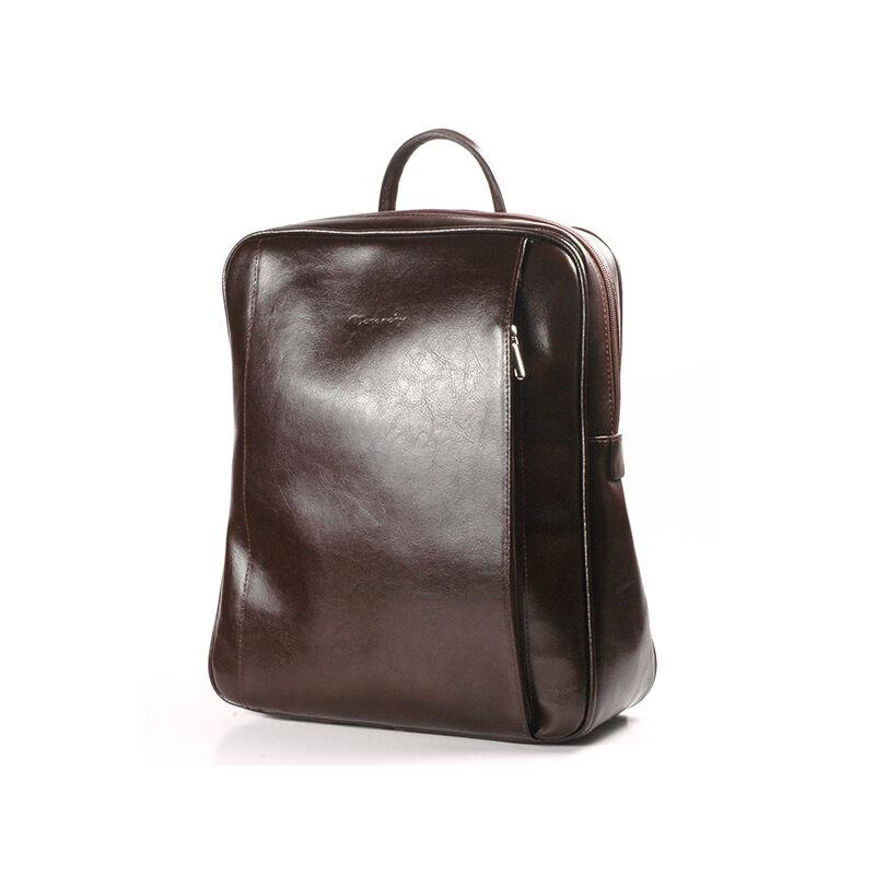 61424bc703 Rubina csokoládébarna női bőr hátizsák 29x35cm 25.990 Ft-os áron!