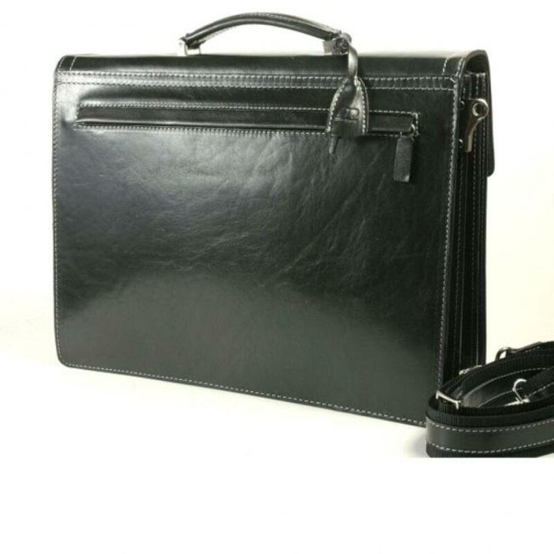 5b79da7c1f16 Gabriel fekete Toscana bőr aktatáska 39 x 31 cm. 59.990 Ft-os áron!