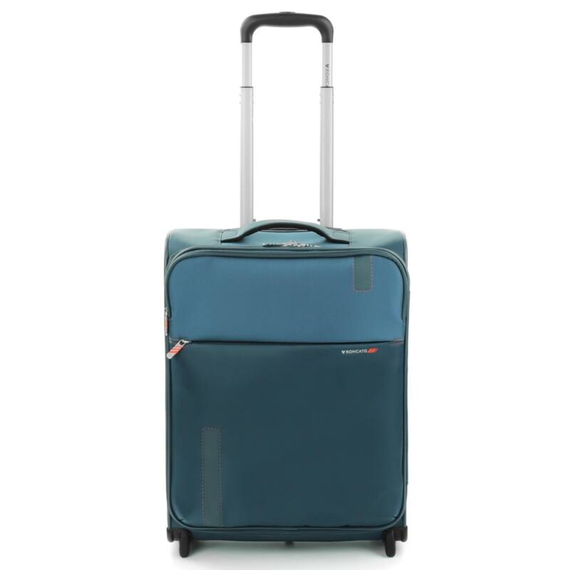 aef36e367c5f Roncato Speed 2-kerekes puhafedeles kabinbőrönd 55 cm, kék ...