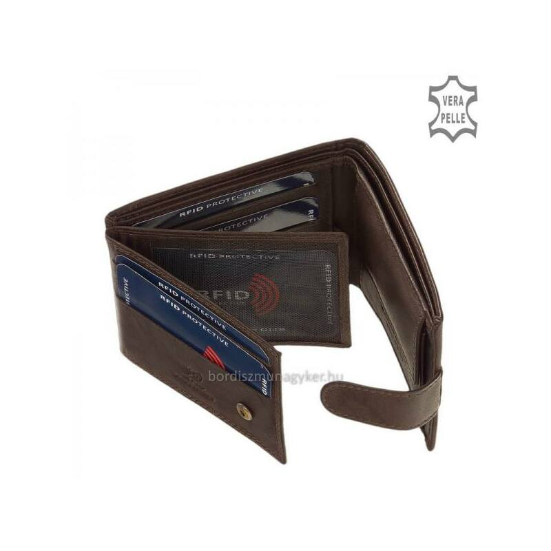 GreenDeed férfi pénztárca RFID védelemmel ff09deb0da