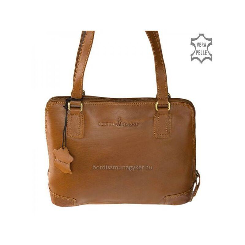 GreenDeed világos barna női bőrtáska 23.990 Ft-os áron! 93ba9e14ce