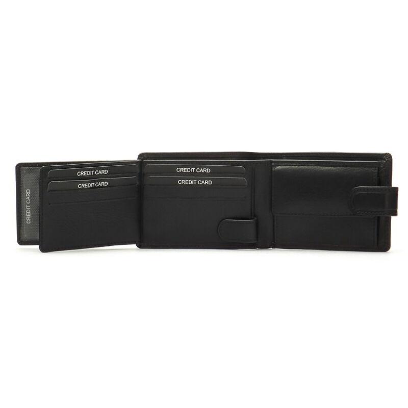 Férfi bőr pénztárca 9 db-os kihajtható kártyatartóval 5.990 Ft-os áron! ade91fe133