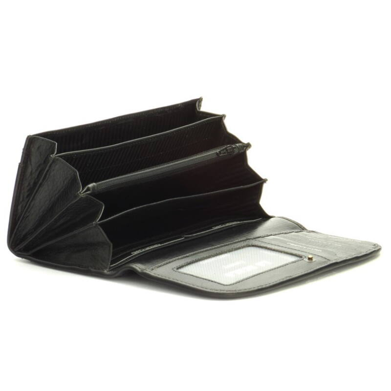 Női bőr pénztárca - fekete 7.990 Ft-os áron! 35c1952f22