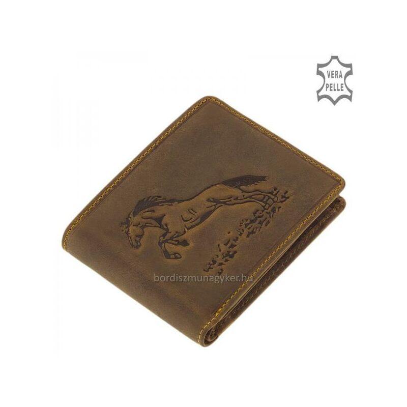 a01f525de5f9 GreenDeed bőr pénztárca ugró lovas mintával 6.490 Ft-os áron!