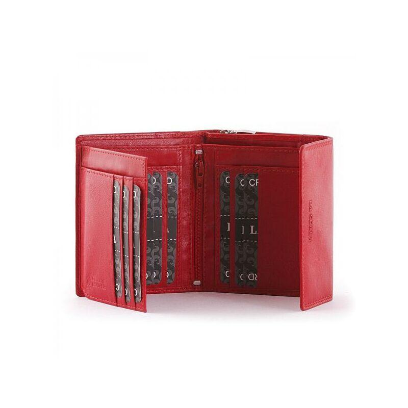 La Scala női bőr pénztárca piros 4.999 Ft-os áron! 5eaa1c5424