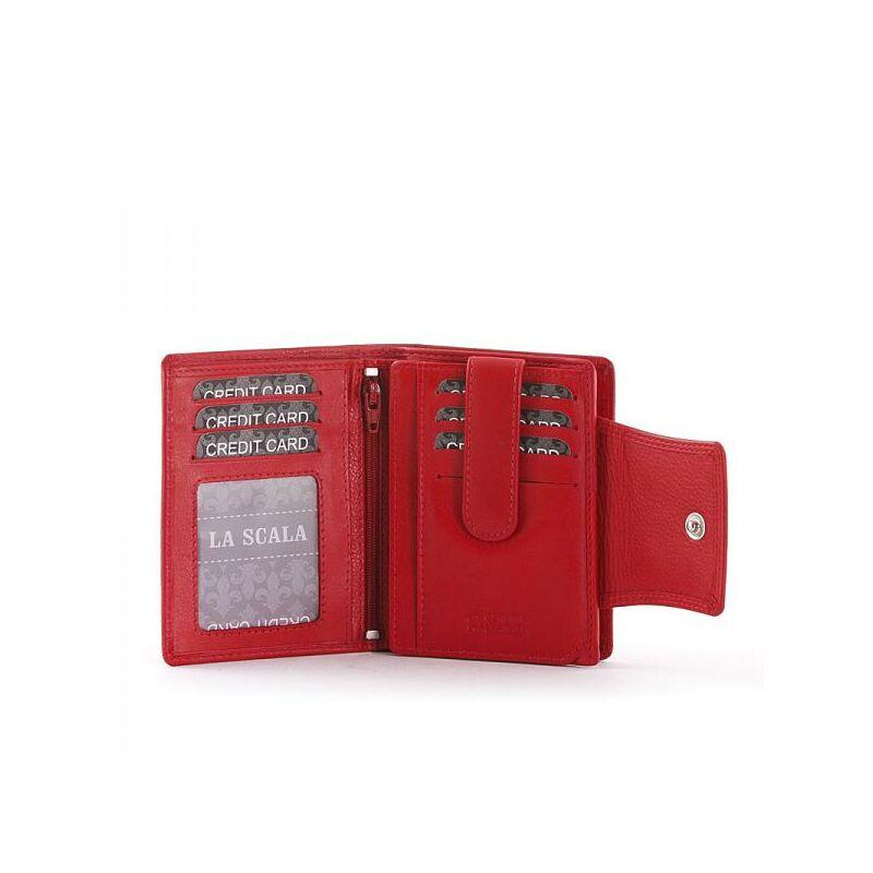 La Scala átfogópántos női bőr pénztárca a2b2426e58