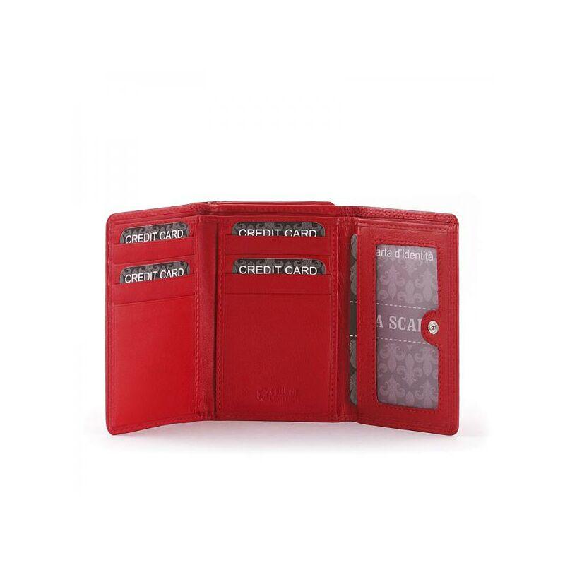 La Scala Női bőr pénztárca piros 4.990 Ft-os áron! f48baeffe1