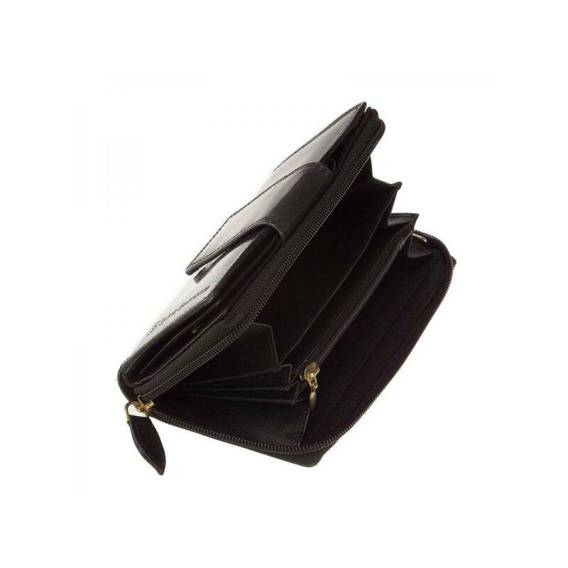 SB Sylvia Belmonte női bőr pénztárca fekete 2.990 Ft-os áron! 26a471628f