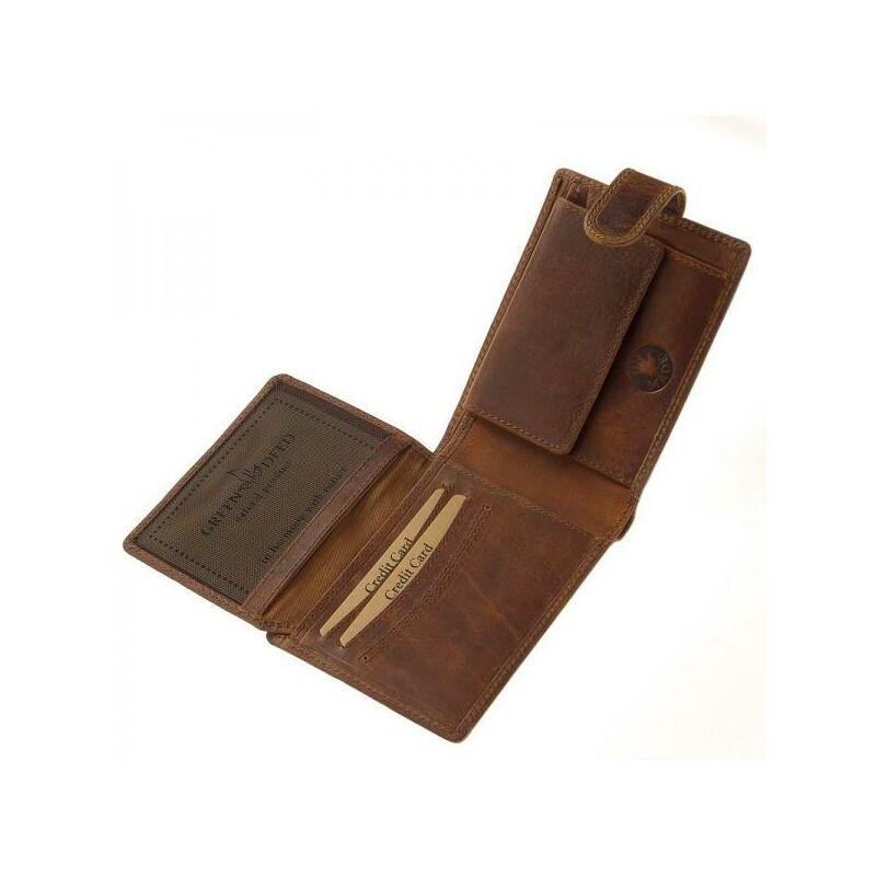 afe795afbf69 GreenDeed Natural bőr férfi pénztárca 6.499 Ft-os áron!