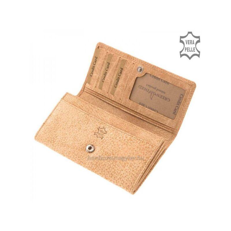 GreenDeed női bőr pénztárca pasztell 5.990 Ft-os áron! be28af92c3