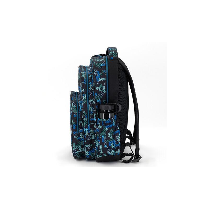 9a42fe265786 Autonomy Tetris tinédzser 3 rekeszes iskolatáska 13.036 Ft-os áron!