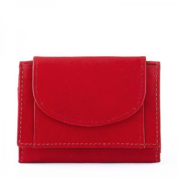 La Scala női bőr pénztárca piros 1.490 Ft-os áron! 6885f689ff