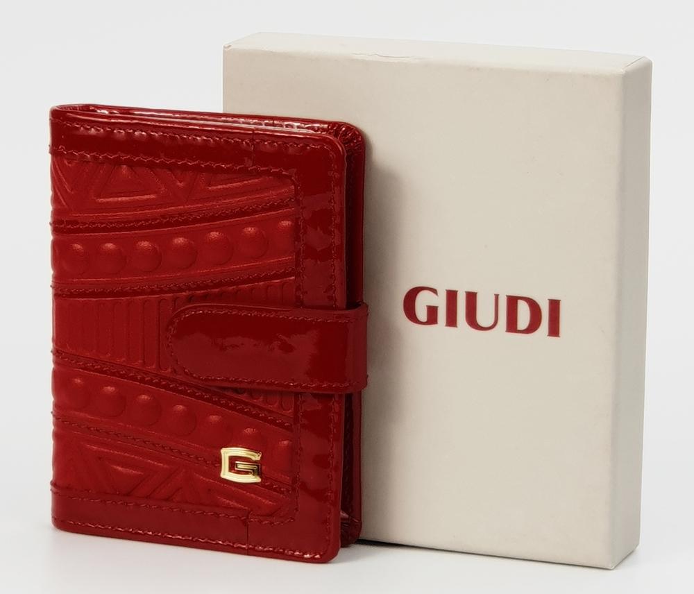 Giudi absztrakt mintás piros bőr női kártyatartó 8.990 Ft-os áron! 399e918417