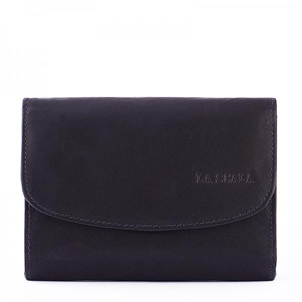 La Scala női bőr pénztárca fekete 2.490 Ft-os áron! 6076f3ef9d