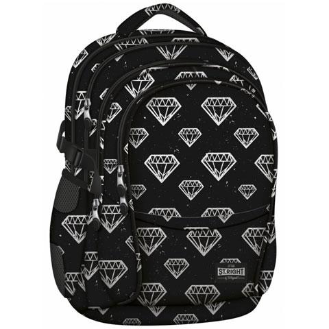 dbc652994d17 St.Right Diamonds négyrekeszes iskolatáska, hátizsák 13.348 Ft-os áron!